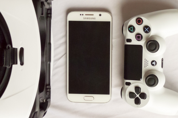 How to setup PS4 controller for GearVR