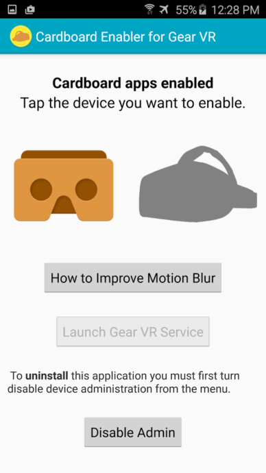 google cardboard apps with gear vr a how to