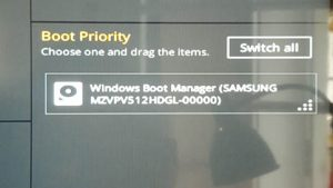 Install Windows on a M 2 SM951 with Asus Z170 Pro Gaming - End Space