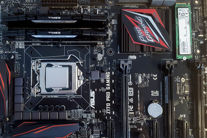 Install Windows on a M 2 SM951 with Asus Z170 Pro Gaming