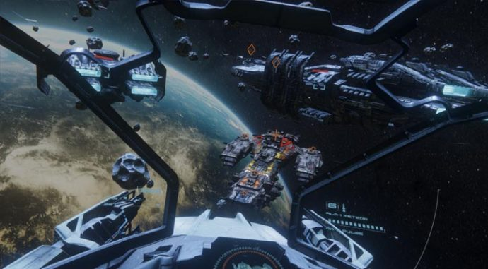 end space 1 2 2 released with gear vr controller support end space