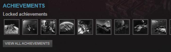 Unlockable Steam Achievements